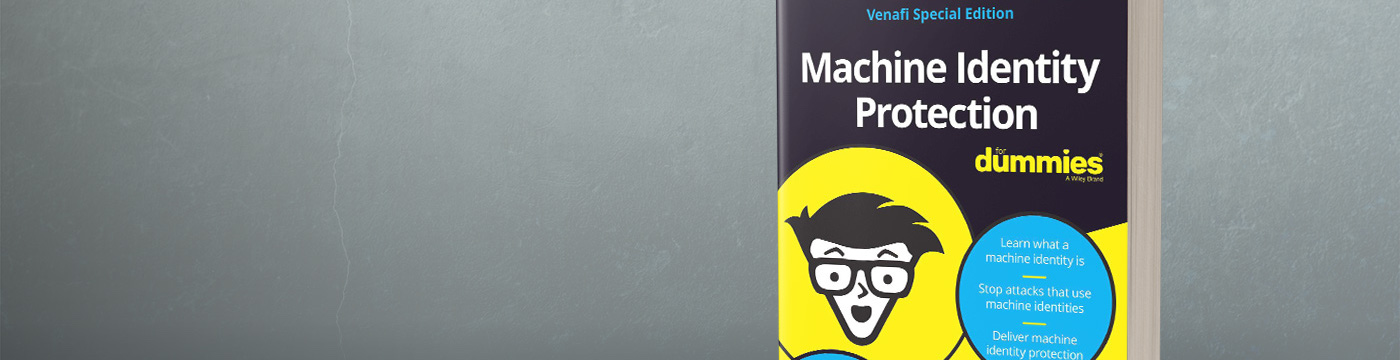 machine identity for dummies banner