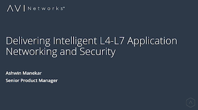 L4-L7 Application Networking & Security