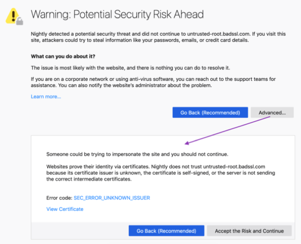 New Firefox 66 browser warnings speak Human  Does it matter? | Venafi