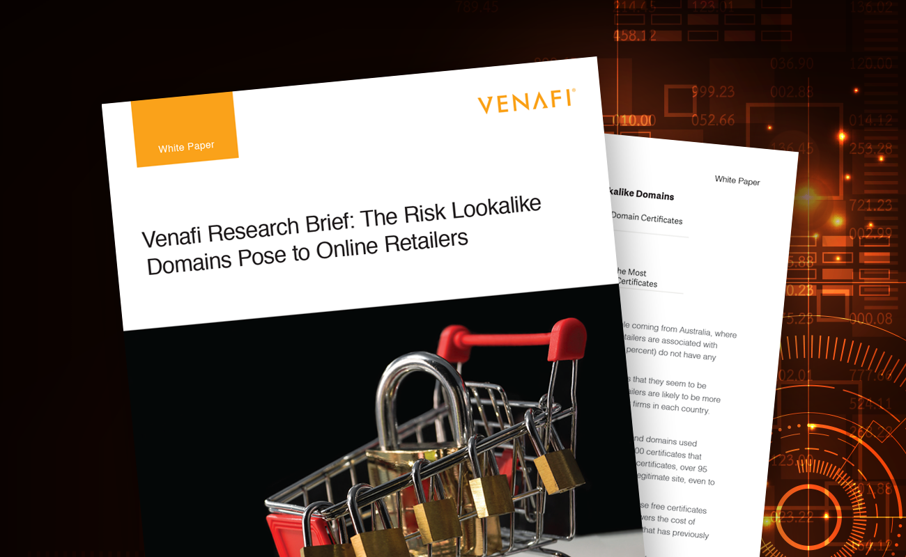 Venafi Research Brief: The Risk Lookalike Domains Pose to Online Retailers