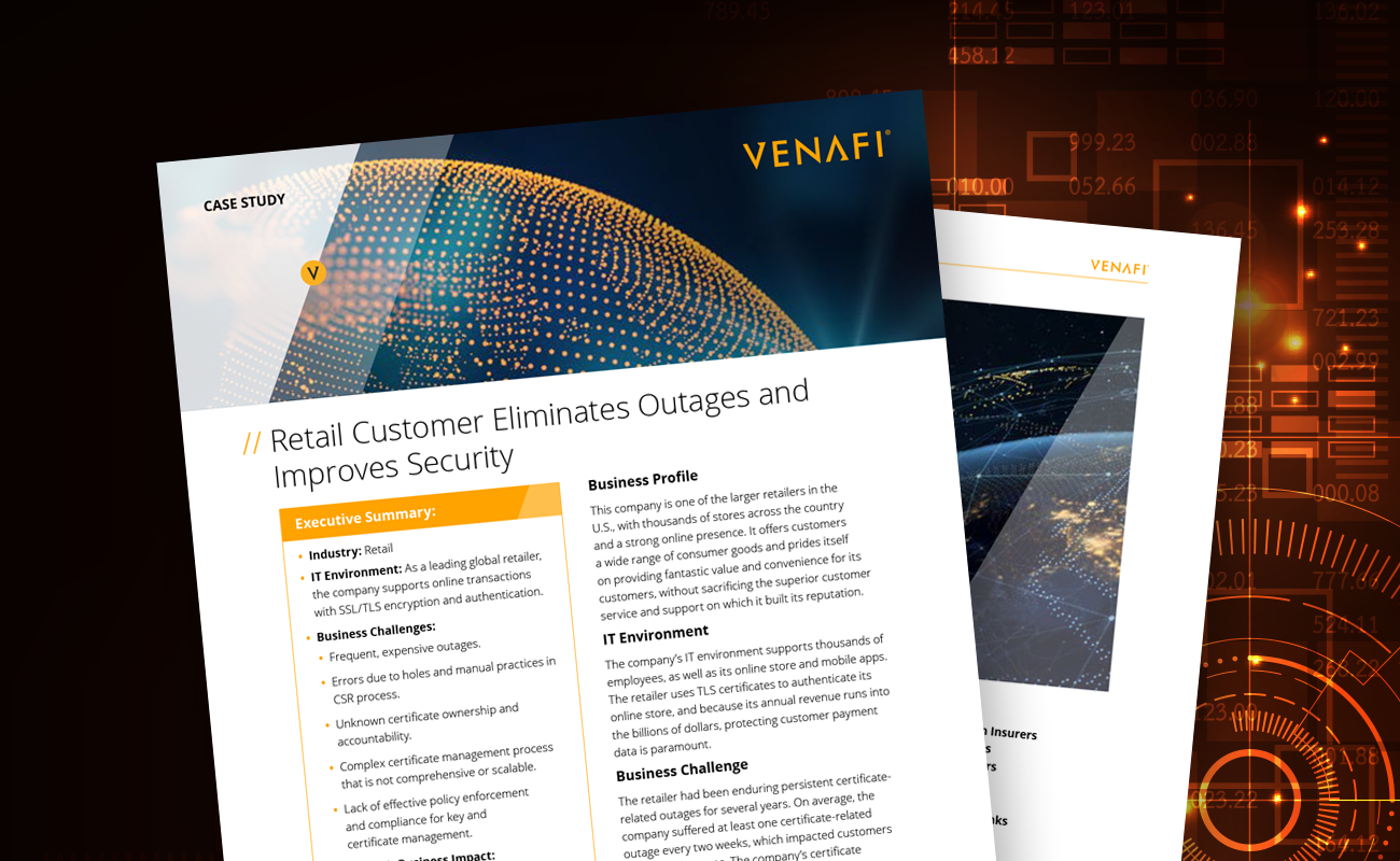 Case Study: Retail Customer Eliminates Outages