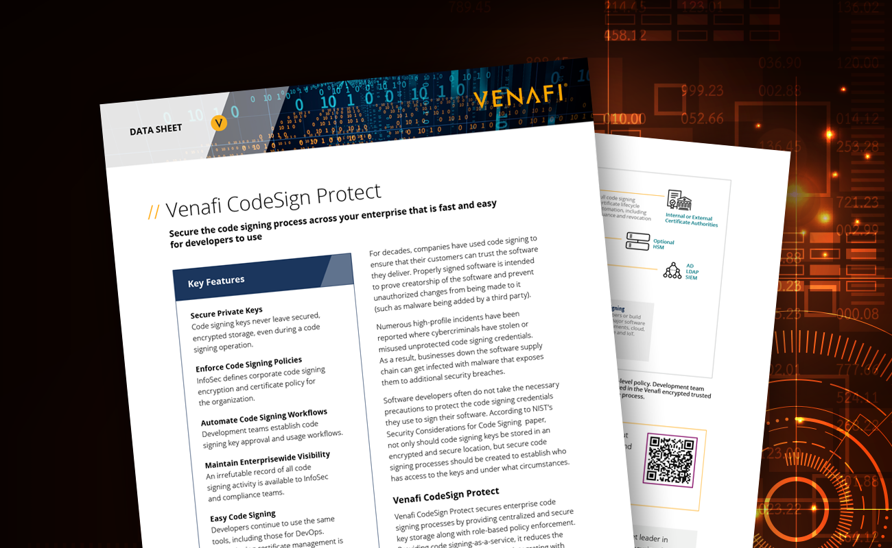 CodeSign Protect DataSheet