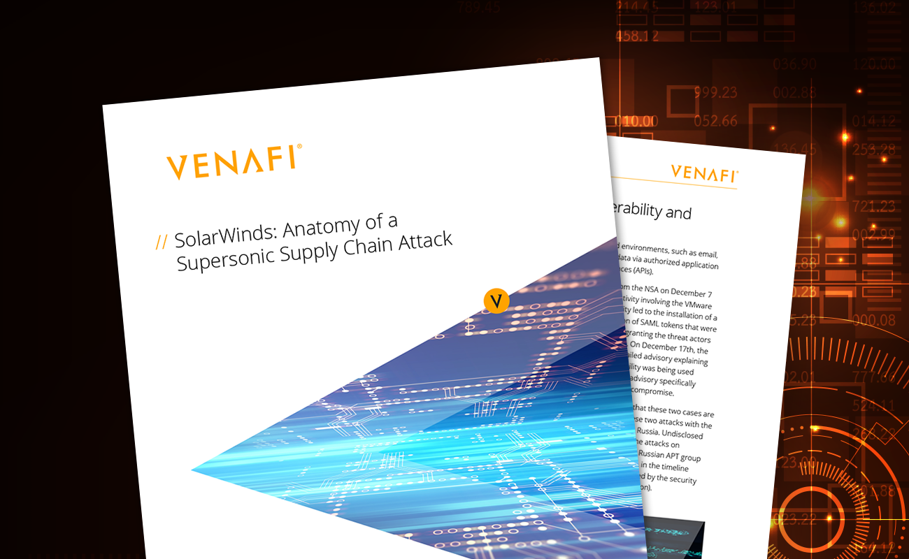 SolarWinds: Anatomy of a Supersonic Supply Chain Attack