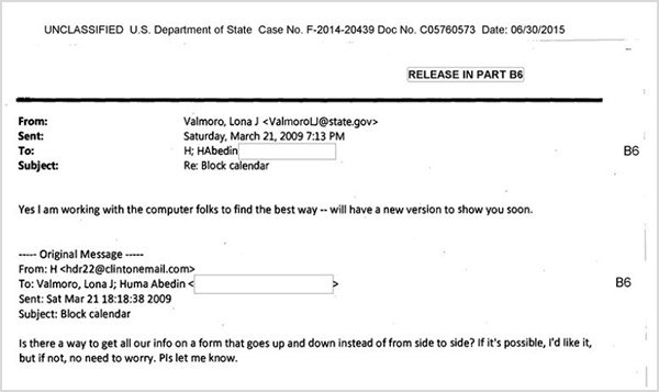 The first publicly-known email to be sent by Secretary Clinton using clintonemail.com is on Saturday, 21 March 2009.