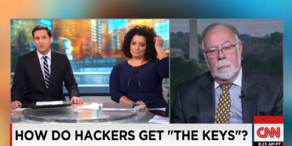 How do hackers get keys discussed on CNN
