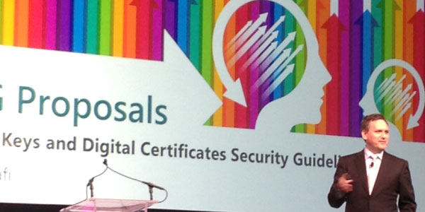 Kevin Bocek at 2014 PCI Community Meetings in Orlando