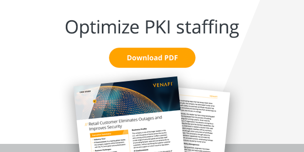 optimize PKI staffing