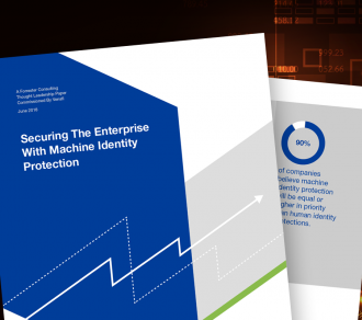 Forrester Consulting Whitepaper: Securing the Enterprise with Machine Identity Protection