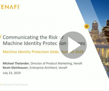 risk of machine identity failure webinar