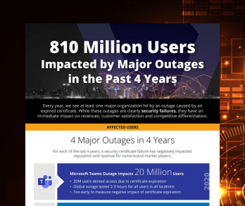 Major Outages Infographic
